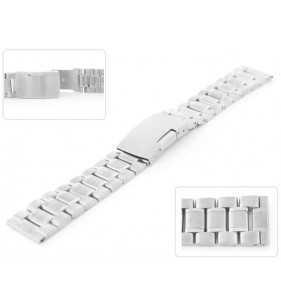 Stalowa bransoleta do zegarka TZ-BRAN01S srebrna