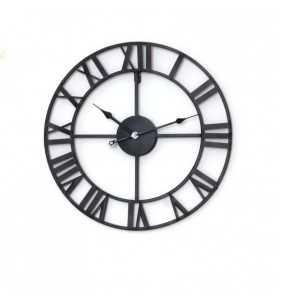 Zegar ścienny Loft kuty, metalowy styl industrialny
