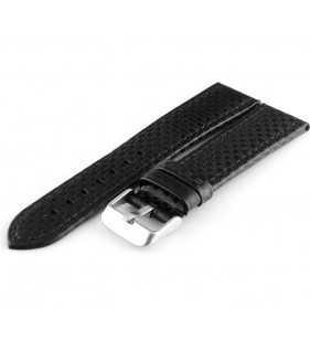 Pasek do zegarka carbon Tekla T-03.01 czarny carbon