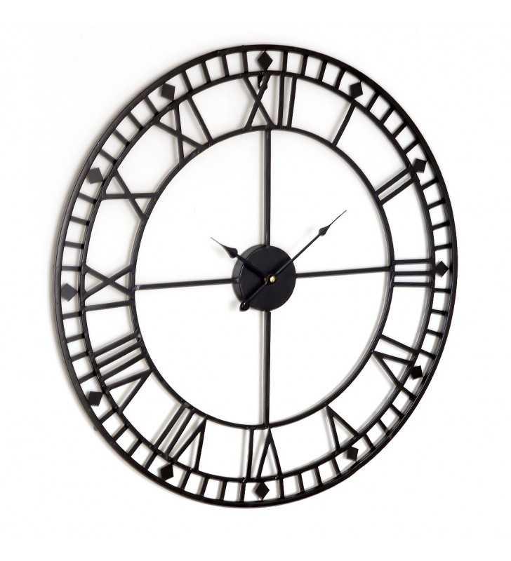 Zegar Loft duży czytelny 80 cm