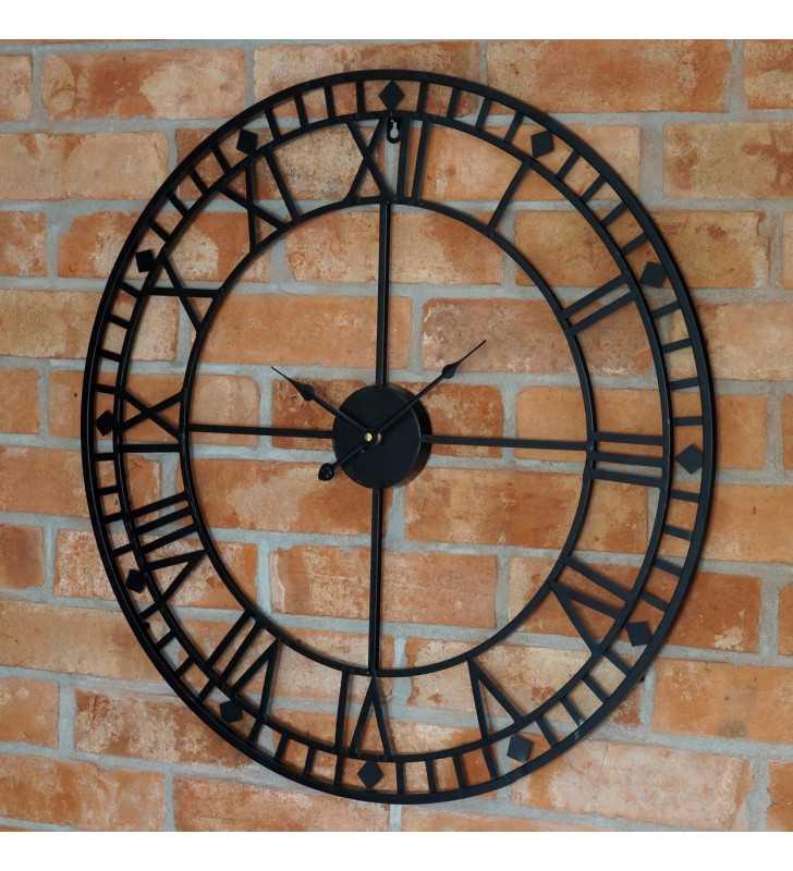 Zegar Loft duży czytelny z minutami
