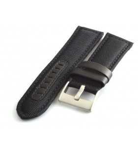 Skórzany pasek do zegarka  PACIFIC W34.01 nylonowo skórzany cevlar