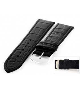 Pasek skórzany do zegarka HORIDO 087.01 XL przedłużany aligator