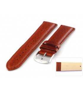 Pasek skórzany do zegarka z fakturą -bizon HORIDO 019.03