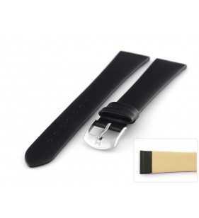 Pasek skórzany do zegarka HORIDO 080L.01 XL klasyczny gładki czarny