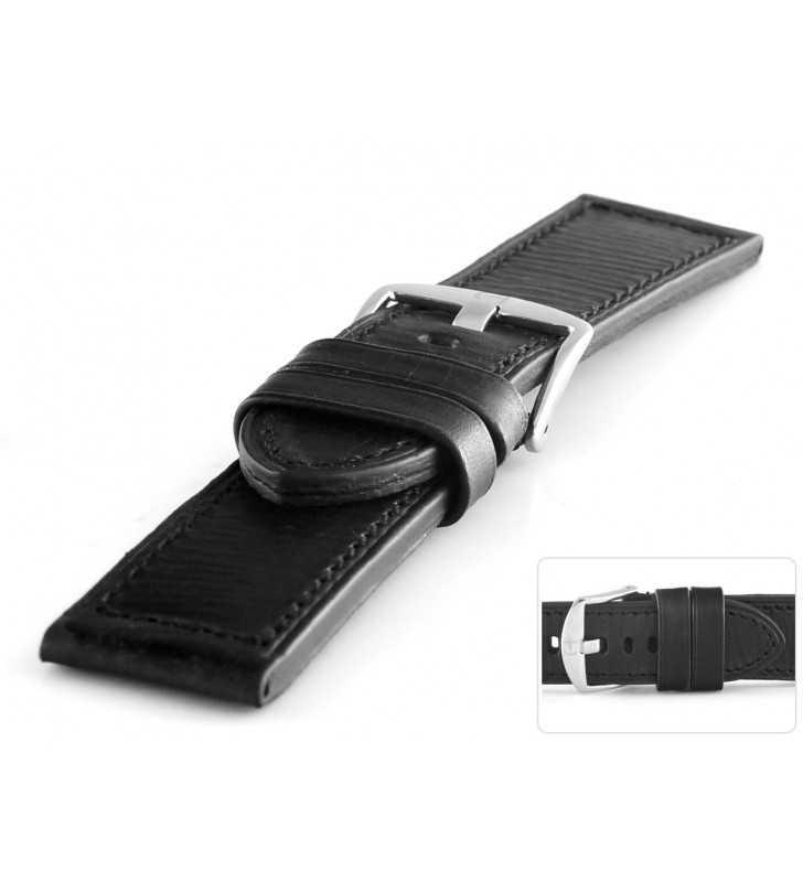 Pasek skórzany do zegarka sportowy HORIDO 187L.01 XL