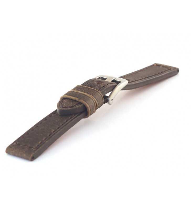 Pasek skórzany do zegarka sportowy HORIDO 187.02