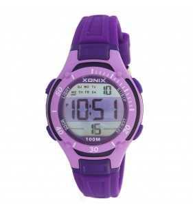 Sportowy zegarek dziecięcy XONIX KV-004 wr 100 m na prezent dla chłopca i dla dziewczynki