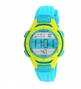 Sportowy zegarek dziecięcy XONIX KV-003 wr 100 m na prezent dla chłopca i dla dziewczynki