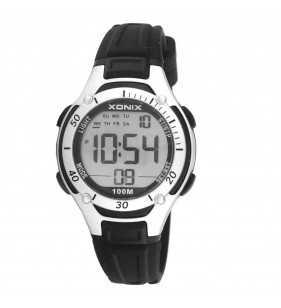 Sportowy zegarek dziecięcy XONIX KV-006 wr 100 m na prezent dla chłopca i dla dziewczynki