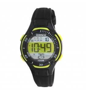 Sportowy zegarek dziecięcy XONIX KV-007 wr 100 m na prezent dla chłopca i dla dziewczynki