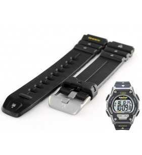 Oryginalny pasek do zegarka TIMEX T5K196, gumowy  pasek 18 mm