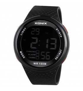 Sportowy Zegarek męski XONIX GJ-007 negatywowy, Xonix, Zegarki męskie,