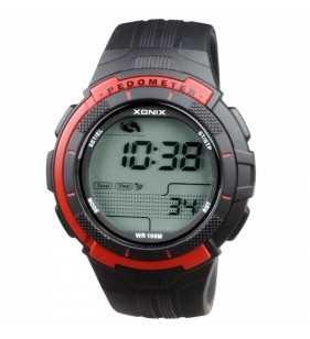 Sportowy zegarek XONIX GSP-005 z KROKOMIERZEM, Xonix,