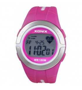 Sportowy Zegarek XONIX HRM2-001 z pulsometrem,BMI, Xonix,