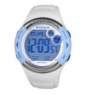 Zegarek XONIX HRM3-001 pulsometr - krokomierz, zegarek do płwyania i nurkowania, Xonix
