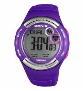 Zegarek XONIX HRM3-002 pulsometr - krokomierz, zegarek do płwyania i nurkowania, Xonix