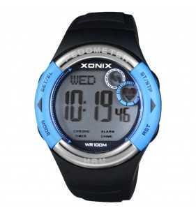 Zegarek XONIX HRM3-006 pulsometr - krokomierz, zegarek do płwyania i nurkowania, Xonix