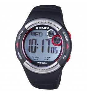Zegarek XONIX HRM3-007 pulsometr - krokomierz, zegarek do płwyania i nurkowania, Xonix