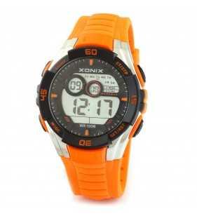 Sportowy zegarek XONIX JK-A02 Wr 100 m, Zegarki męskie do pływania z podświetleniem