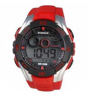 Sportowy zegarek XONIX JK-A003 Wr 100 m, Zegarki męskie do pływania z podświetleniem