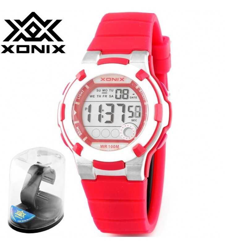 Sportowy Zegarek dziecięcy XONIX KF-05 WR 100M
