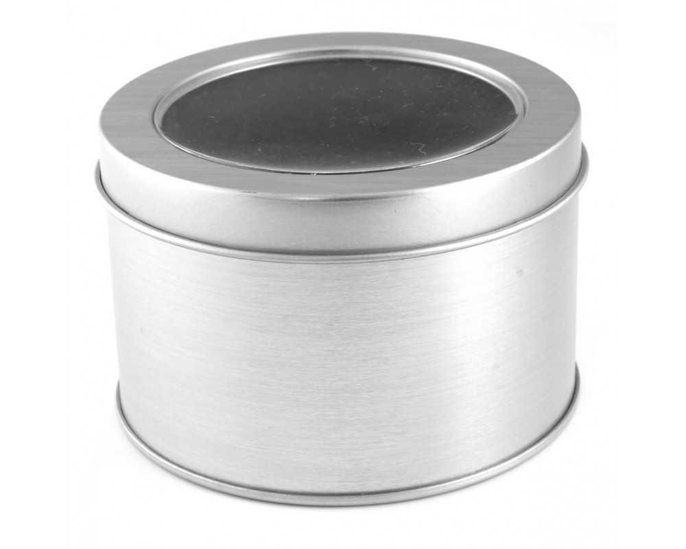 Pudełko puszka aluminium- zegarek ETUI