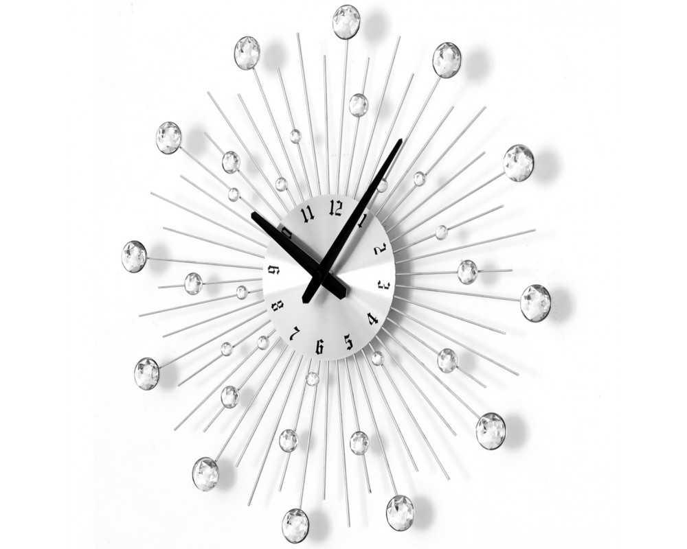 Zegar ścienny Crystal - DIamond - Nowoczesny zegar ścienny Nextgeneration DIAMOND 905 sc