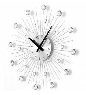 Nowoczesny zegar ścienny Nextgeneration DIAMOND 905 sc