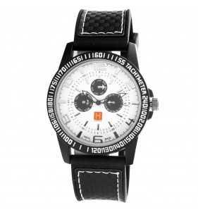 Zegarek męski Hardy Time HM01 biało czarny