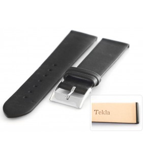 16-20 mm Pasek do zegarka skórzany Tekla T-047.01