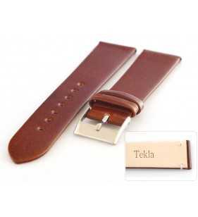 16-20 mm Pasek do zegarka skórzany Tekla T-047.02
