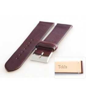 12-14 mm Pasek do zegarka skórzany Tekla T-047.04