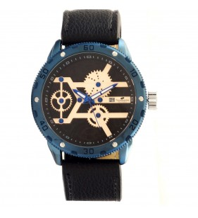 Zegarek męski Timemaster 201/14 , niebieski zegarek