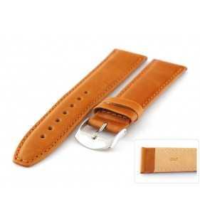 Pasek do zegarka skórzany gładki Horido 077 XL