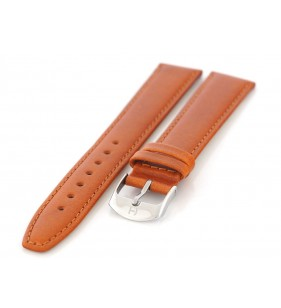 Pasek do zegarka skórzany gładki Horido 077