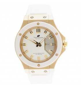 Zegarek męski Timemaster 204/06 biało złoty