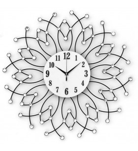 1315W2 Nowoczesny zegar ścienny Diamond