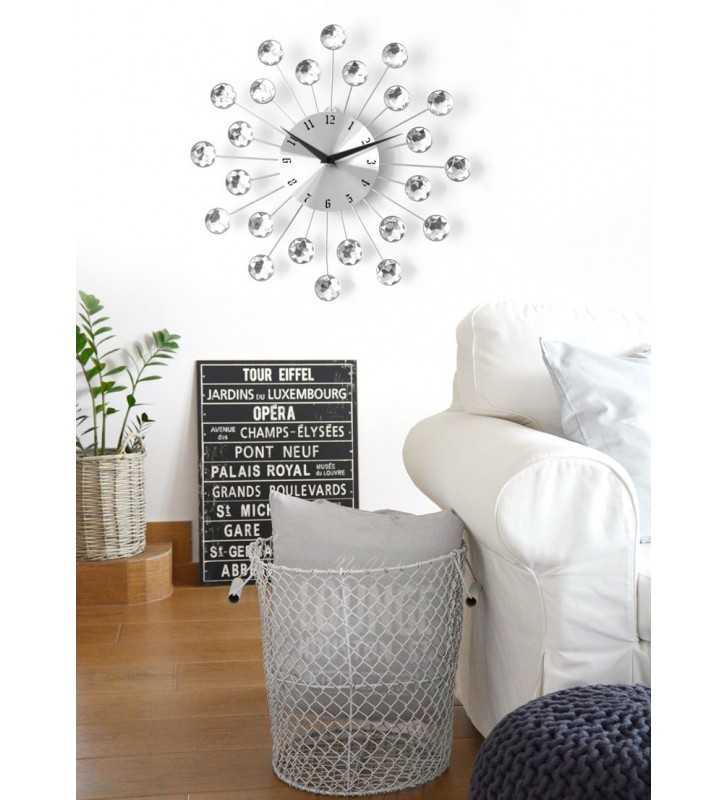 Nowoczesny zegar ścienny Nextgeneration DIAMOND 914 salon