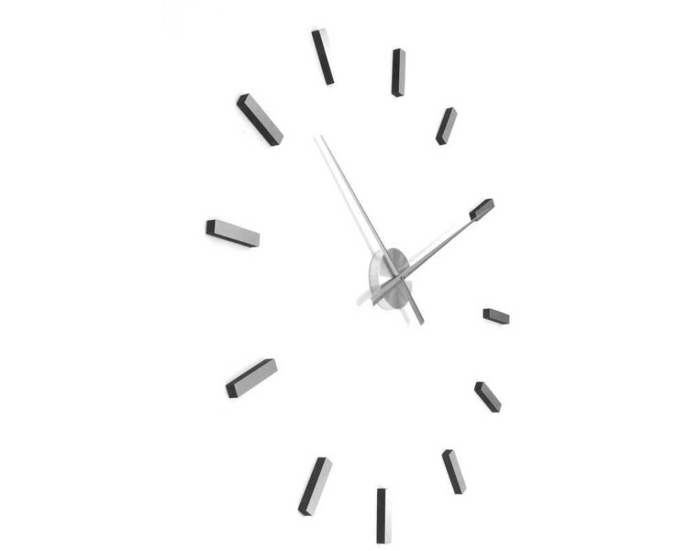 Zegar ścienny duży nowoczesny DIY  T4310 indeksy
