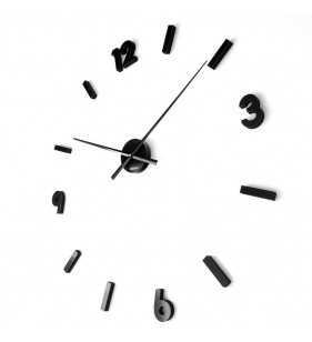 Zegar ścienny czarny