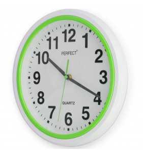 Nowoczesny zegar ścienny 5841 zielony