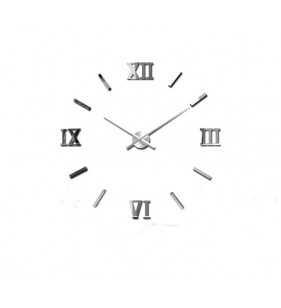 Nowoczesny zegar ścienny 3d