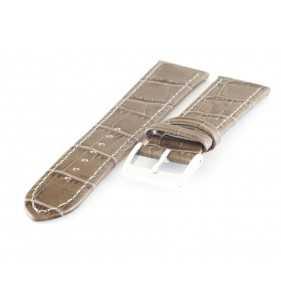 Pasek do zegarka skórzany aligator