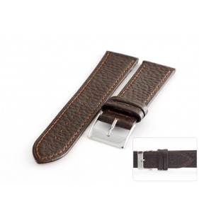 Pasek skórzany do zegarka HORIDO 086.02 skóra bizona