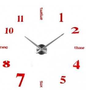 Zegar 12s015 czerwony
