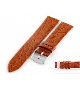 Pasek skórzany do zegarka HORIDO 117.03 jasno brązowy