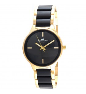 Zegarek damski Timemaster 180/08 czarno złoty