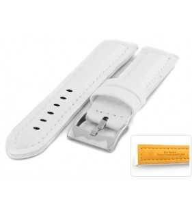 Pasek carbonowy do zegarka DILOY 374.22 biały
