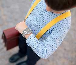 zegarek na rece dziecięcy